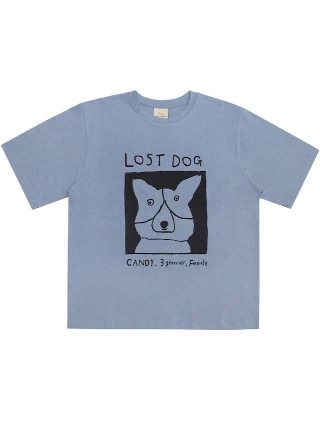 【Mogu Takahashi】T SHIRT LOST DOG
