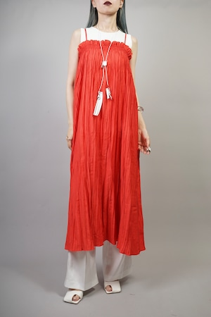 GATHER BARE ONE PIECE  (RED) 2106-46-24