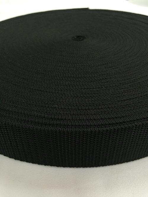 抗菌テープ PP(ポリプロピレン) 38㎜幅 黒 1.7mm厚 5m単位