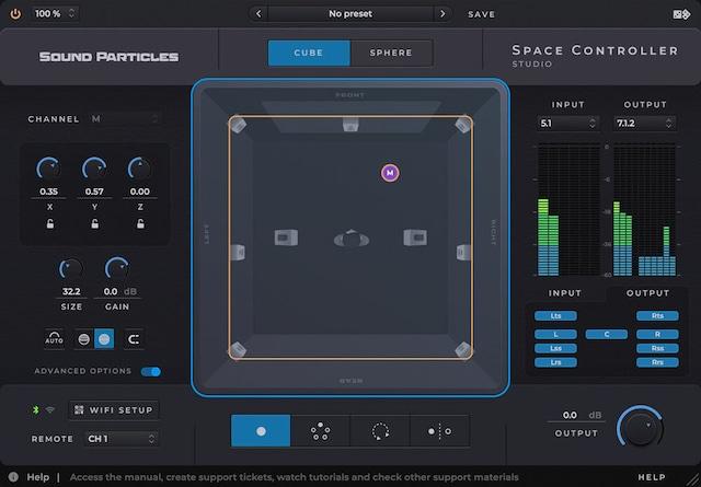 SOUND PARTICLES - Space Controller Studio(スペース・コントローラ・スタジオ)