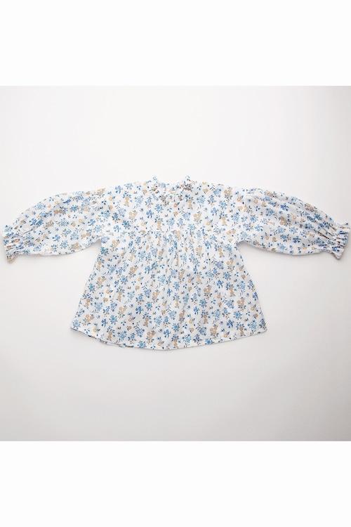 Nellie Quats Kiss-Chase Blouse - Edith Rose Liberty Print Cotton