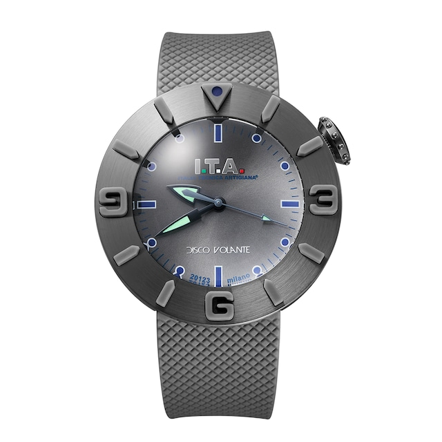 【I.T.A. アイティエー】DISCO VOLANTE ディスコ・ボランテ(グレー)/国内正規品 腕時計