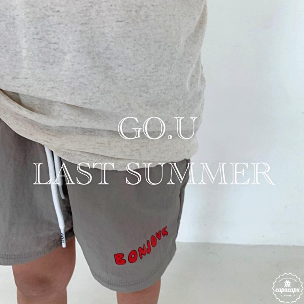 «sold out»«ジュニア» go.u bonjour short pants ボンジュールショートパンツ ジュニアサイズ