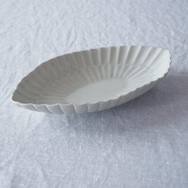 三浦ナオコ Naoko Miura 輪花楕円鉢