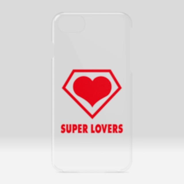 SUPER LOVERS logo/スーパーラヴァーズアイホンケース6/7/8/SE2
