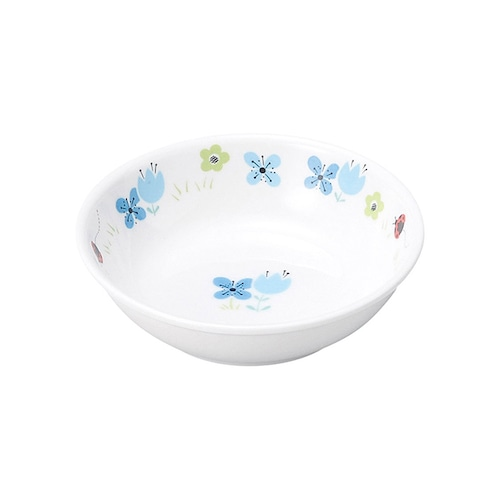 9.8cm小皿 強化磁器 ブルーメ・ブルー【1009-1330】