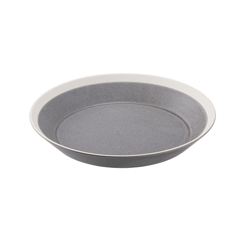 yumiko iihoshi porcelain(イイホシ ユミコ) Dishes プレート200 moss gray matte