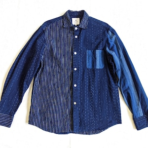 <OSOCU> Bingo-fushiori crazy pattern standard shirt