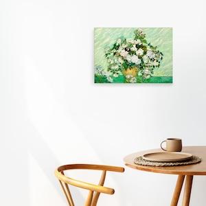 素敵なアートパネル A4サイズ 薔薇のある花瓶 フィンセント・ファン・ゴッホ