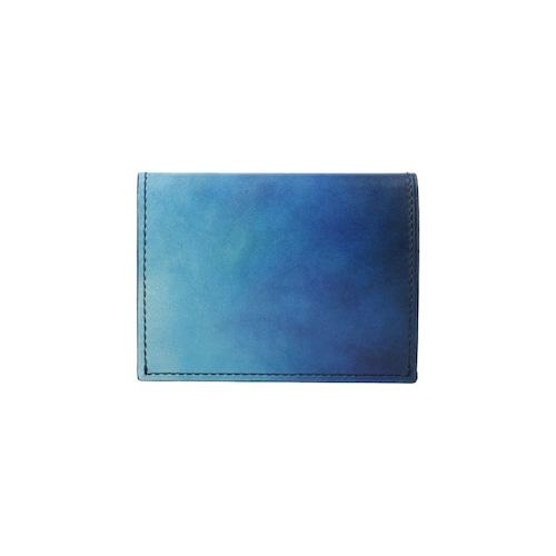 青い小さな財布-YFF191N