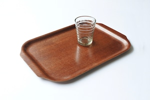 vintage teak plywood tray / ヴィンテージ チーク プライウッド トレイ