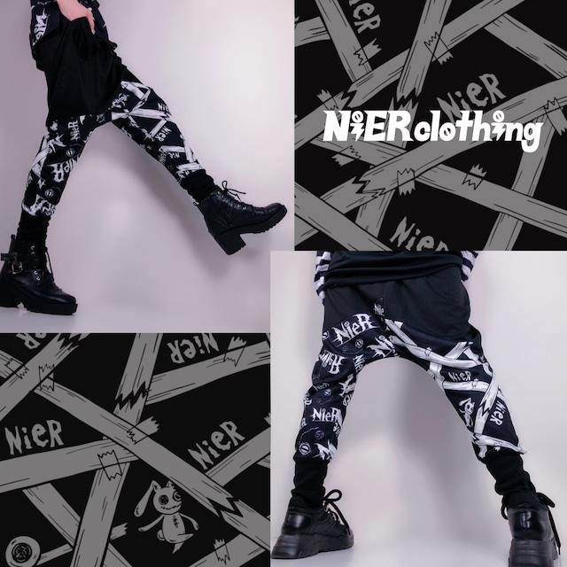 STYLISH SARROUEL PANTS【NieR pattern】