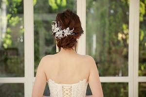 ブライダルヘッドドレス[HA-086]