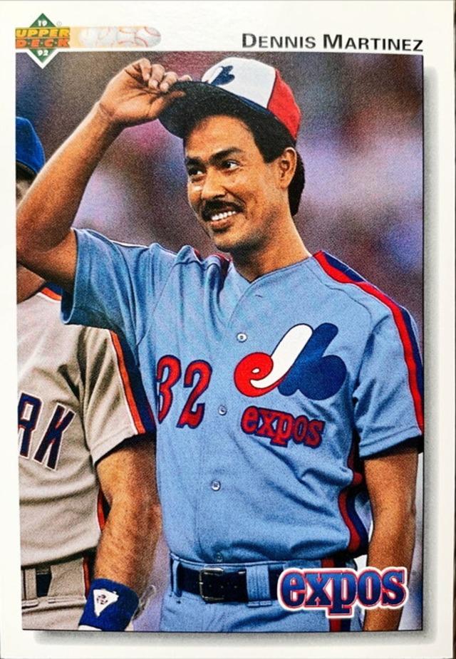 MLBカード 92UPPERDECK Dennis Martinez #365 EXPOS