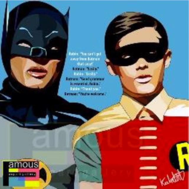 バットマン & ロビン/ BATMAN & ROBIN : BB.BLUE / Lサイズ 52cm / PAPDC_0001