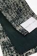 グラースオリジナル小袋帯/半巾帯 箔プリントデニム グリーンA