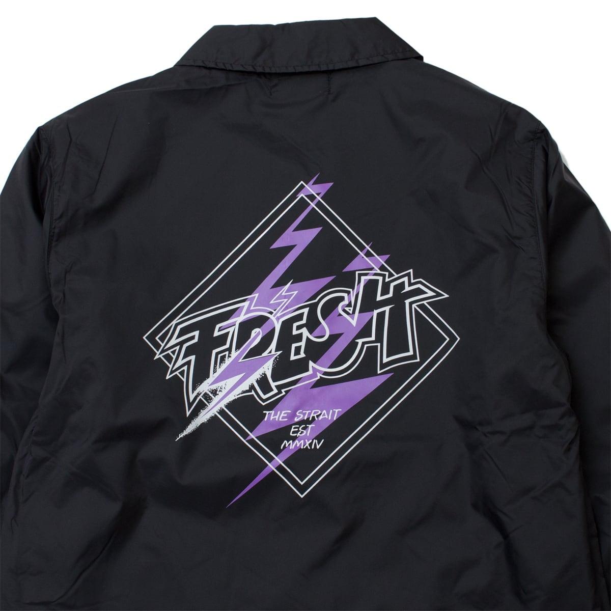FRESH COACH JACKET #BLACK