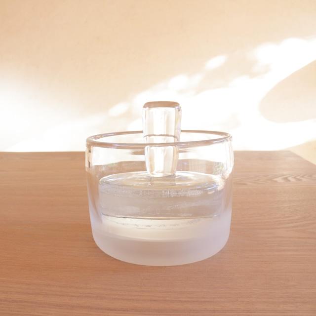ガラス漬物鉢 〈 L 〉φ110