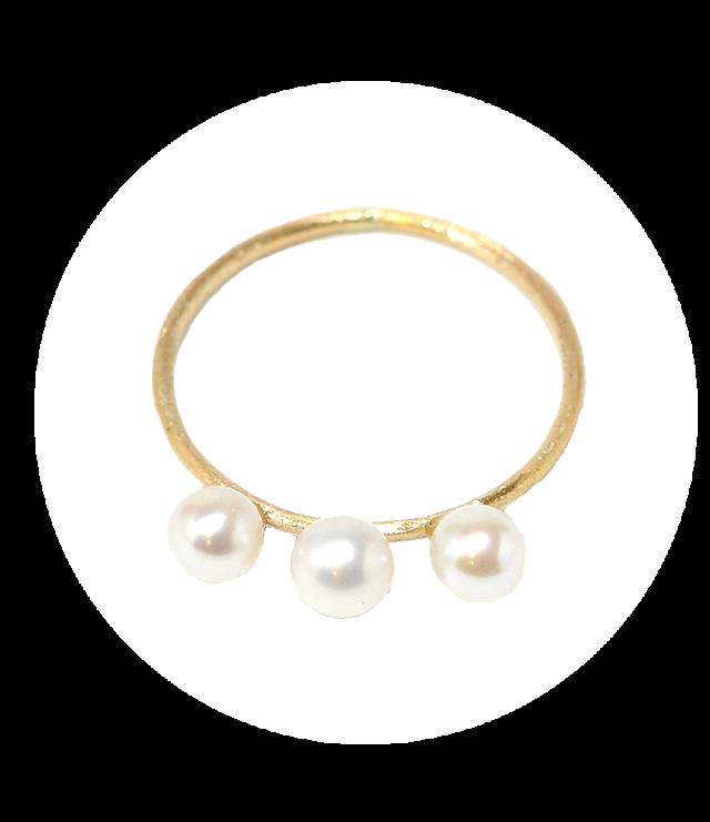 Petit pearl Ring(プチパールリング) EMU-013R-5