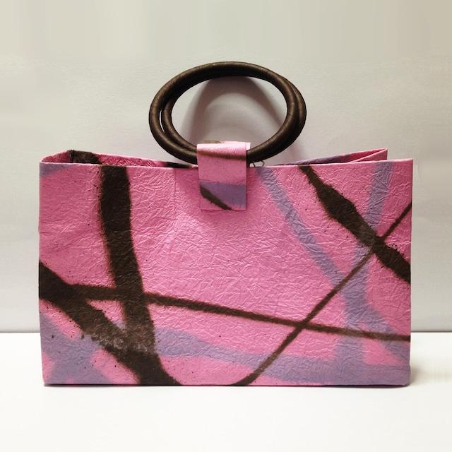強製紙のバッグ(藤)