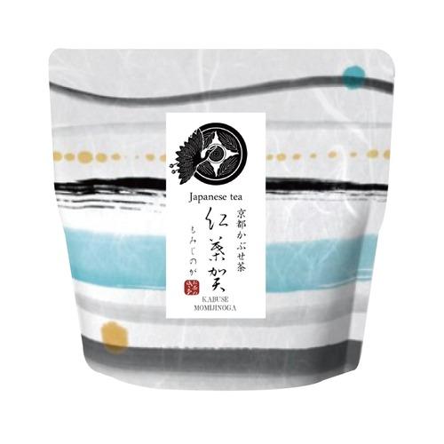 【いろどり】京都かぶせ茶 紅葉賀(もみじのが)リーフ(茶葉)40g