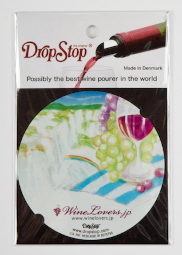 【アウトレット】ワインの液だれ防止 ドロップストップVol.1 / アルゼンチン 1枚入り DropStop DSS009