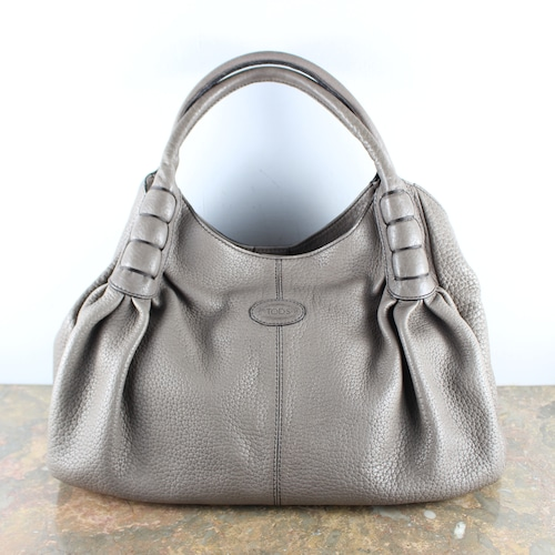 .TOD'S LEATHER HAND BAG MADE IN ITALY/トッズレザーハンドバッグ2000000051758