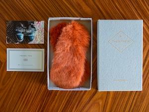 《10月16日正午〜予約販売》【rex_Orange】Shoes quilt(シューズファーキルト)