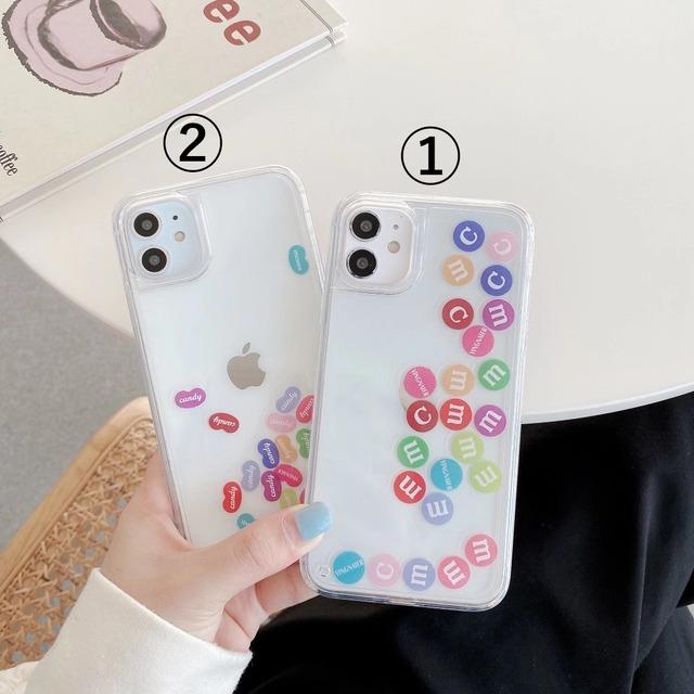 流れる♪ Liquid fun candy iphone case