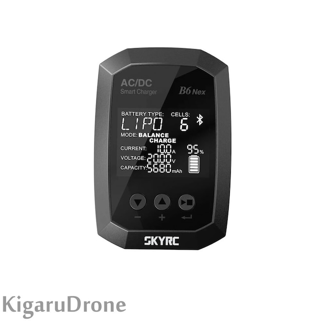 【2-6S 急速充電器】SKYRC B6 Nex AC/DC Smart Charger LiPo 10A 200W