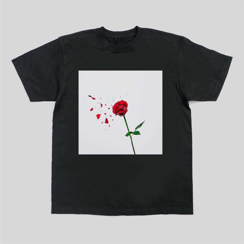 ダジャ絵T 12インチレコード(薔薇がバラバラ)