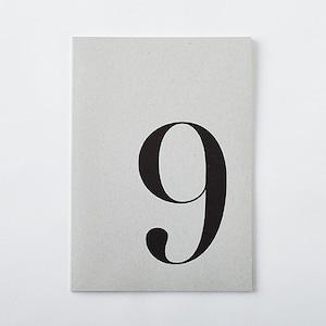 DAILY NOTE/MONOTONE 「9」