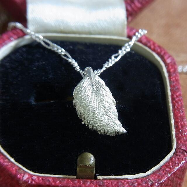 Leaf necklace【PT170012S】