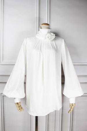 Corsage Blouse White