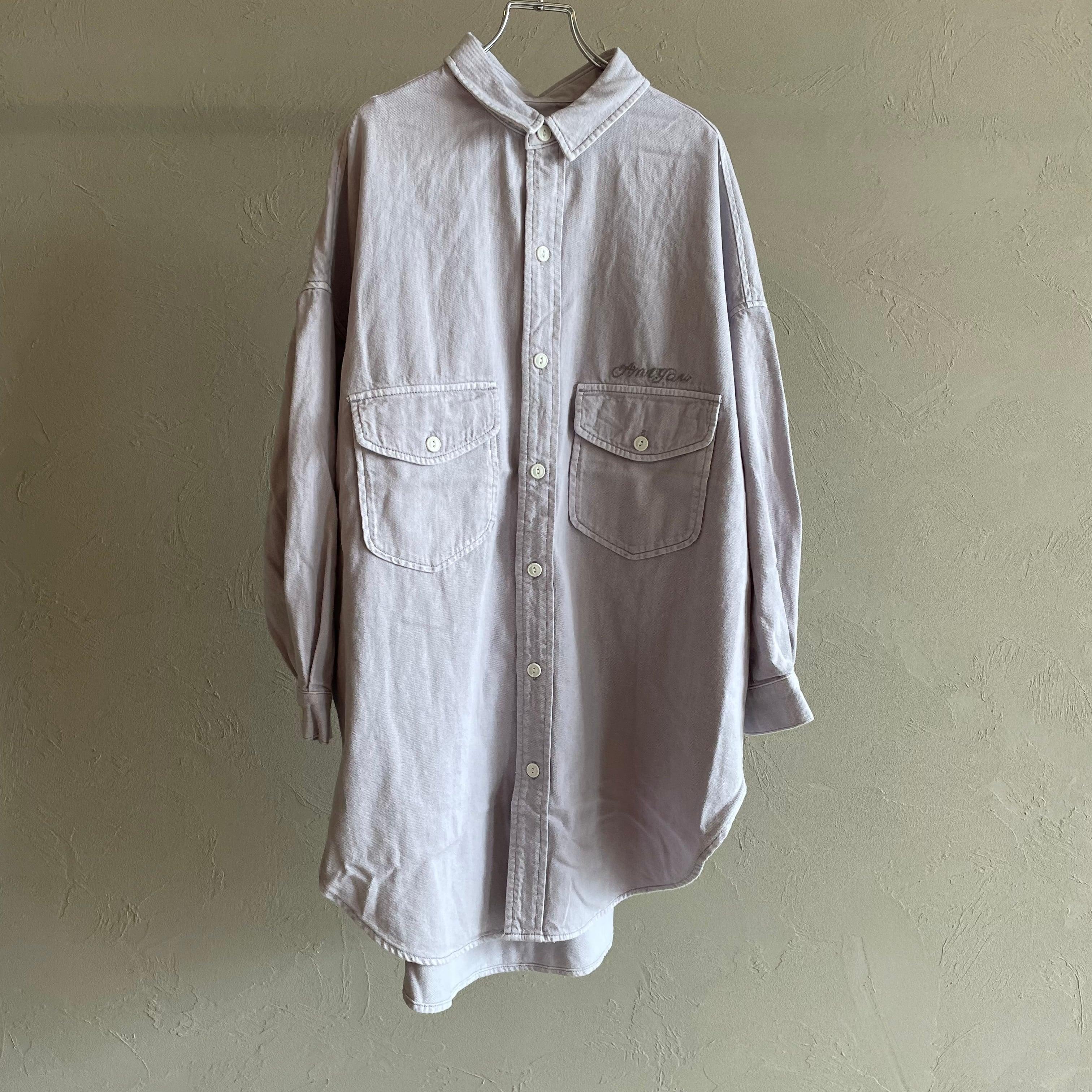 【 ANTGAUGE 】- AA654 - ビッグデニムシャツジャケット