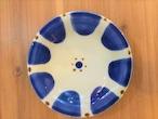 『ノモ陶器製作所』皿6寸コバルト チチチャン