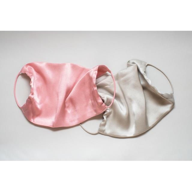HAN AHN SOON × 晴豆商店コラボ シルクマスク   Silk mask