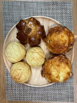 ★有機カムート100%使用 3種 おまかせパン