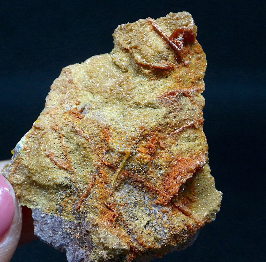 アリゾナ産 褐鉛鉱 バナジン鉛鉱  14,4g VND042  鉱物 天然石 パワーストーン 原石
