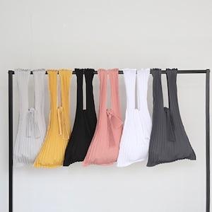 Bag♡プリーツエコバッグS 5colors