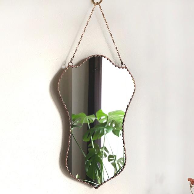 ステンドグラス 鏡 クラシック A アンティークデザイン