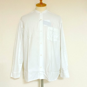 Thermolite® Viyella Band Collar L/S Shirts White