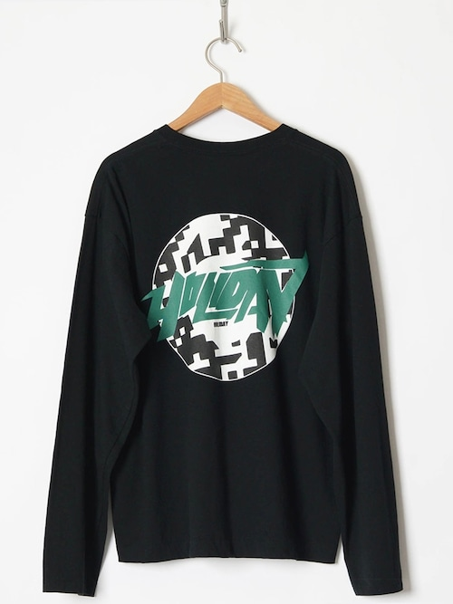 【HOLIDAY】SUPER FINE L/S T-SHIRT(CIRCLE LOGO)