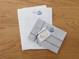 【活版印刷】Letter set [ 忘れな草 ]