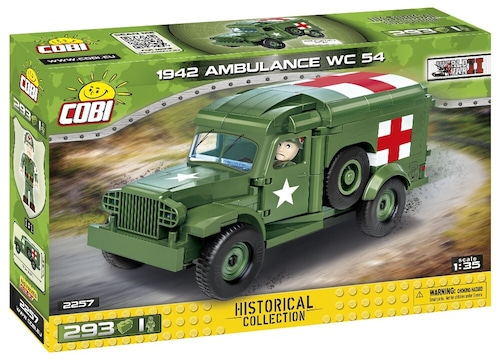 COBI #2257ダッジWC-54 野戦救急車