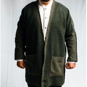 BARBALA ALAN - Mix wool maxi cardi(oversized) - 1890 TJ027