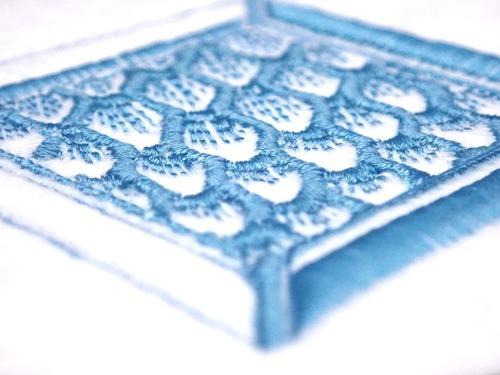 刺繍ワッペン イクサ魔法学院 水の寮シディクス