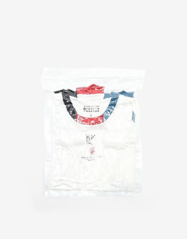 Maison Margiela 3pack stamp t shirt