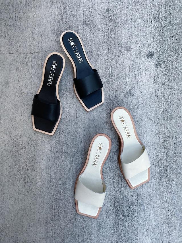 """SOL SANA / ソル サナ"" LOGAN Mule sandals"