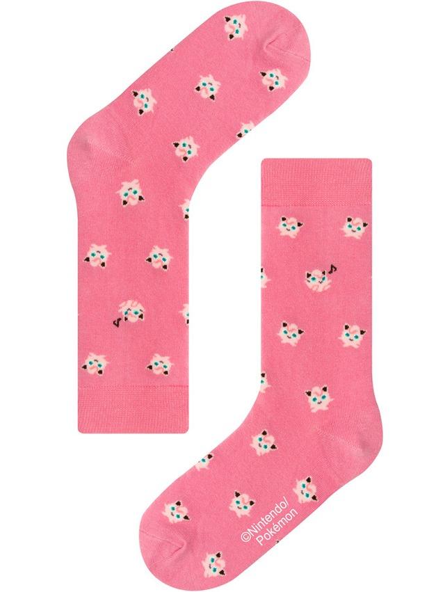 【Pocket Monsters socksappeal】PURIN【ポケットモンスター ソックスアピール】プリン